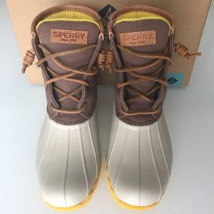 Sperry Duck Boots Women's Sz 8.5